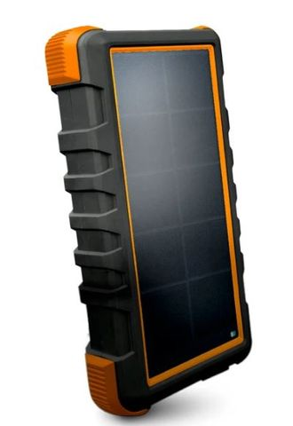 Tough Tested Power Bank 20000mAh Solar/IP66/LED - Dust/Shock/Water Proof 18W Type C Power Delivery