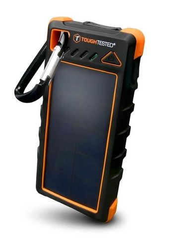 Power Bank 16000mAh Solar/IP67/LED - Dust/Shock/Water Proof