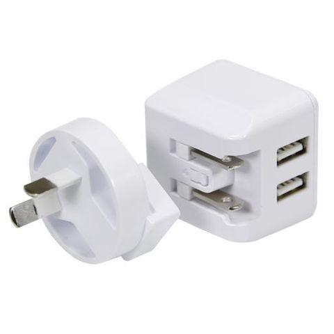 Dual USB AC Fast Charger 3.4A Aerpro