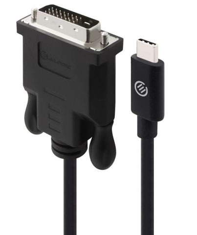 2.0m  Alogic USB type-C to DVI-D Cable