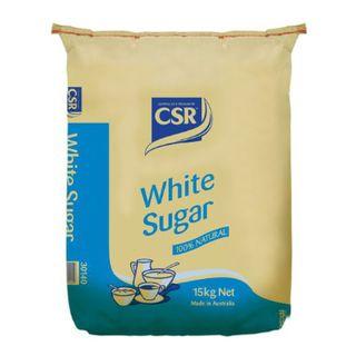 WHITE SUGAR GRADED 15KG CSR