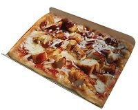BBQ CHICKEN PIZZA SINGLES 140GM X 24 ALLIED CHEF