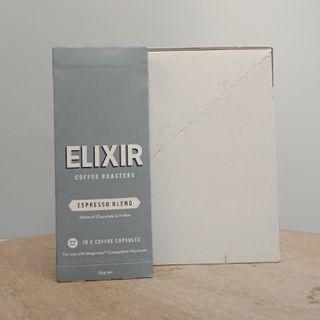 COFFEE PODS 10S ELIXIR (SUIT NESPRESSO MACHINES)