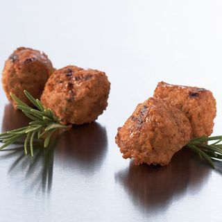 MEATBALLS FLAMEGRILLED 1KG COLONIAL FARM