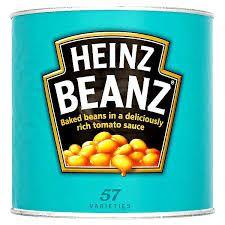 Baked Beans In Tomato Sauce Heinz 2.9Kg Tin