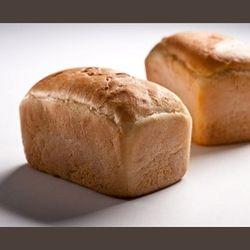 Bread Loaf White Crusty Sliced G/F 600G