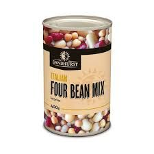 FOUR MIX BEANS 400GM SANDHURST