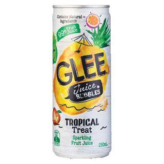 GLEE TROPICAL TREAT 99% FRUIT JUICE 250MLX24