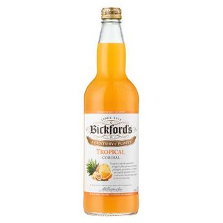 BICKFORDS TROPICAL CORDIAL 750ML