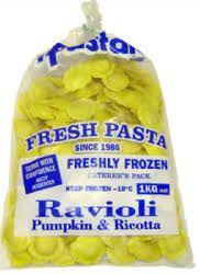 Pumpkin Ravioli 1Kg Il Pastaio