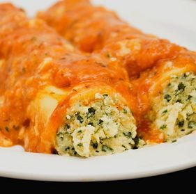 Spinach & Ricotta Canneloni 1Kg Ilpastaio