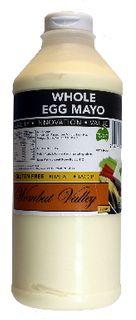 Mayonnaise Whole Egg Squeeze 1Lt Wombat