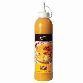 Mango Coulis Topping 500Ml Bottle - Priestleys Gourmet Delights