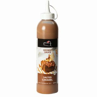Salted Caramel Dessert Sauce Topping 500Ml - Priestleys