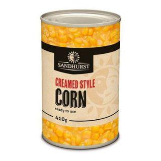 Creamed Corn 410Gm Sandhurst