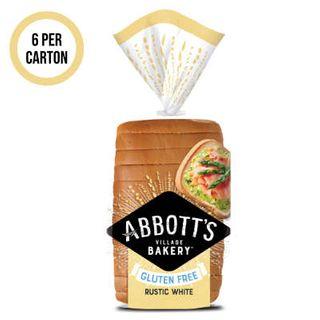 Bread Loaf White Sliced G/F 6 X 500G