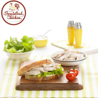 Chicken Breast Cooked Diced Fine 1Kg