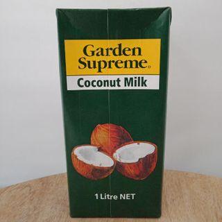 Coconut Milk Tetra Pack 1Lt Garden Supreme
