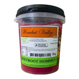 Beetroot Hommus 1Lt Wombat Valley
