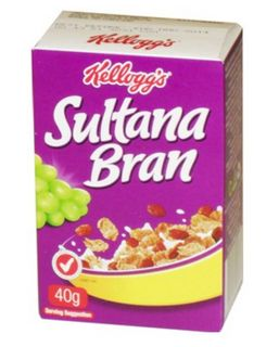 Cereal P/C Sultana Bran 30 X 40G