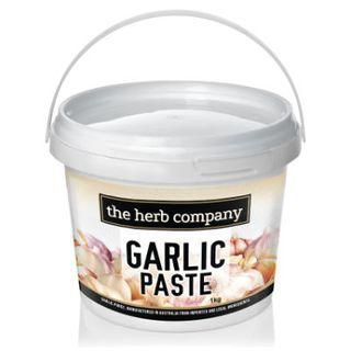 Garlic Crushed Paste 1Kg Herb Company