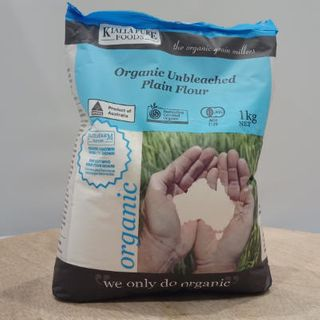 Kialla Organic Unbleached Plain Flour 1Kg