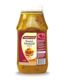 Masterfoods Sweet Mustard Pickle 2.6Kg