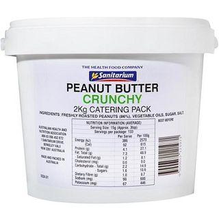 Peanut Butter Crunchy 2Kg Sanitarium