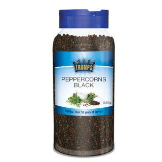Peppercorns Whole Black Trump 550G