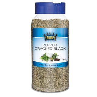 Pepper Black Cracked 500G Trumps