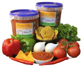 Salsa Chunky Mild Gluten Free 2Kg Wombat Valley