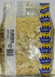 Almond Blanched Flaked 1Kg Trumps