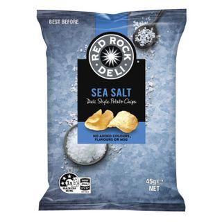 Red Rock Sea Salt Chips 45Gx18 Smiths