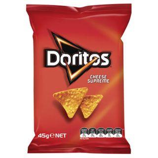 Doritos Cheese Supreme Chips 45Gx18 Smiths
