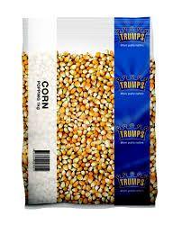 Corn Popping Kernels 1Kg Trumps