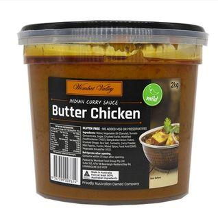 Butter Chicken Simmer Sauce 2Kg Wombat Valley