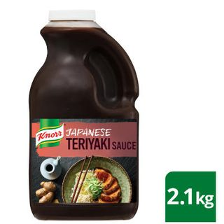 Japanese Teriyaki Sauce Gf 2.1Kg Knorr