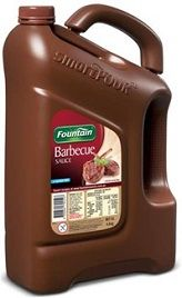 Bbq Sauce Fountain Gluten Free 4Lt