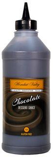 Chocolate Dessert Sauce 1Kg Wombat