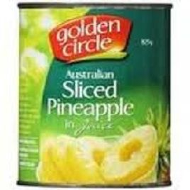 Golden Circle Pineapple Slices In Juice 825Gm