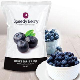Blueberries Frz Iqf 1Kg Speedyberry