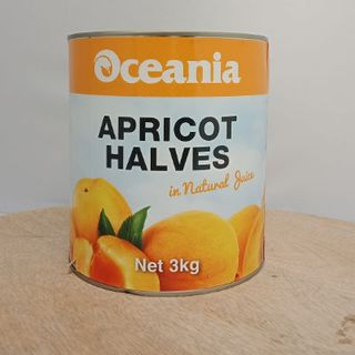 Apricots Halved 3Kg Oceania