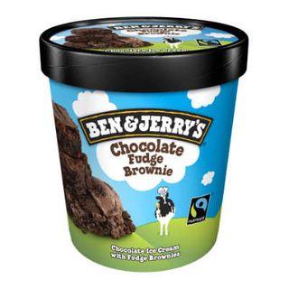 Ben & Jerrys Choc Fudge Brown 458Ml