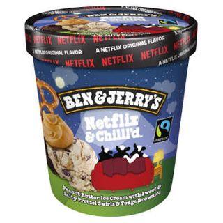 Ben & Jerrys Netflix & Chilled 458Ml