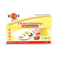 Dumpling Gyoza Chick Mushroom 1Kg Hakka