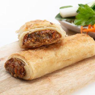 Sausage Roll Vegan, GF 10X140Gm Melindas