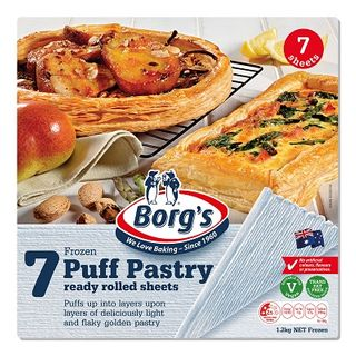 Puff Pastry Country Style 1.2Kg  Borgs