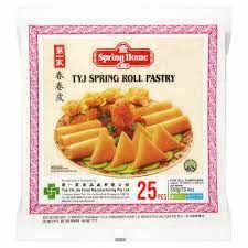 Spring Roll Pastry 8 Inch X 25  Tyj