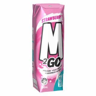 Strawberry Milk Uht Tetra (250Mlx24) M 2 Go
