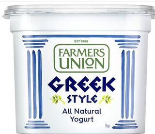 Greek Yoghurt 1Kg Farmers Union